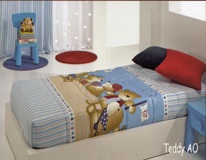 EDREDONES Edredones ajustables TEDDY/AO 090x C.03 E.AJUSTABLE